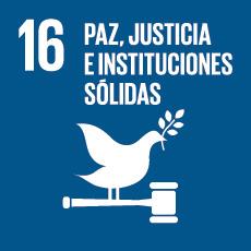 ODS 16 Paz, Justicia e Instituciones Sólidas