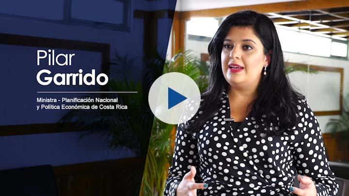 """Serie """"Cooperación Costa Rica – UE (II)"""": Pilar Garrido, Ministra de Planificación"""