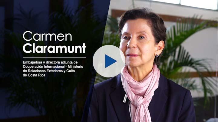"""Serie """"Cooperación Costa Rica – UE (III)"""": Carmen Claramunt, Ministerio RREE"""