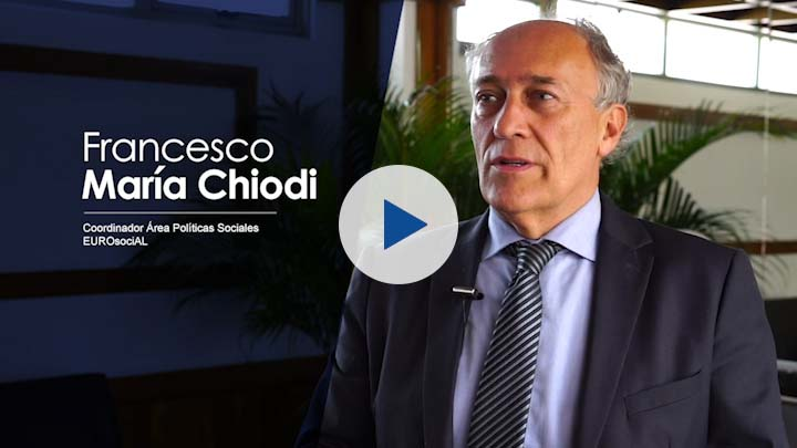 "Serie ""Cooperación UE – Costa Rica (IV)"": Francesco Chiodi, coordinador Políticas Sociales, IILA"