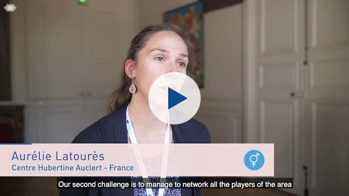 Entrevista con Aurélie Latourès, Centre Haubertine Auclert, Francia (subtítulos en español)