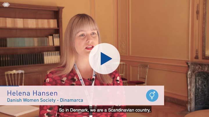 Entrevista con Helena Hansen, Danish Women Society (subtitulado en español)