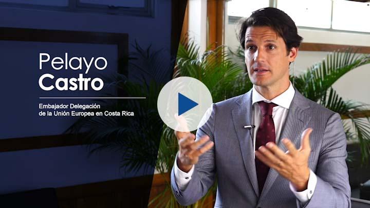 """Serie """"Cooperación UE – Costa Rica (I)"""": Pelayo Castro, Embajador UE"""
