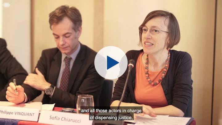Diálogo euro-latinoamericano en torno al combate de la violencia de género (subtitulado en inglés)