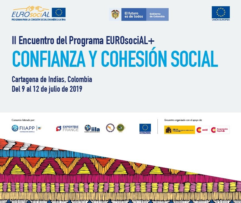 "Second Meeting of the EUROsociAL+ Programme ""Trust And Social Cohesion"""