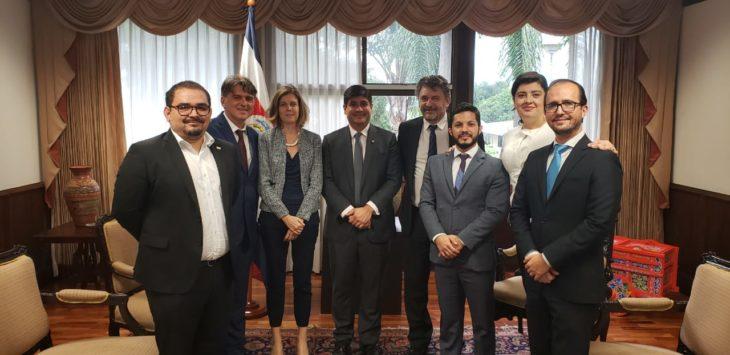 EUROsociAL+ and the president of Costa Rica meet to strengthen the social agenda