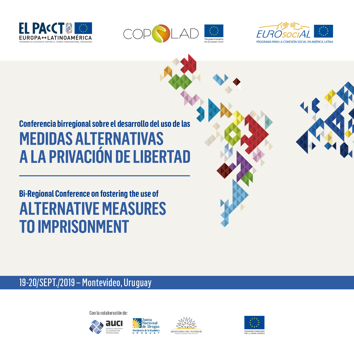 Uruguay hosts Bi-Regional Conference on Alternative Measures for Deprivation of Liberty