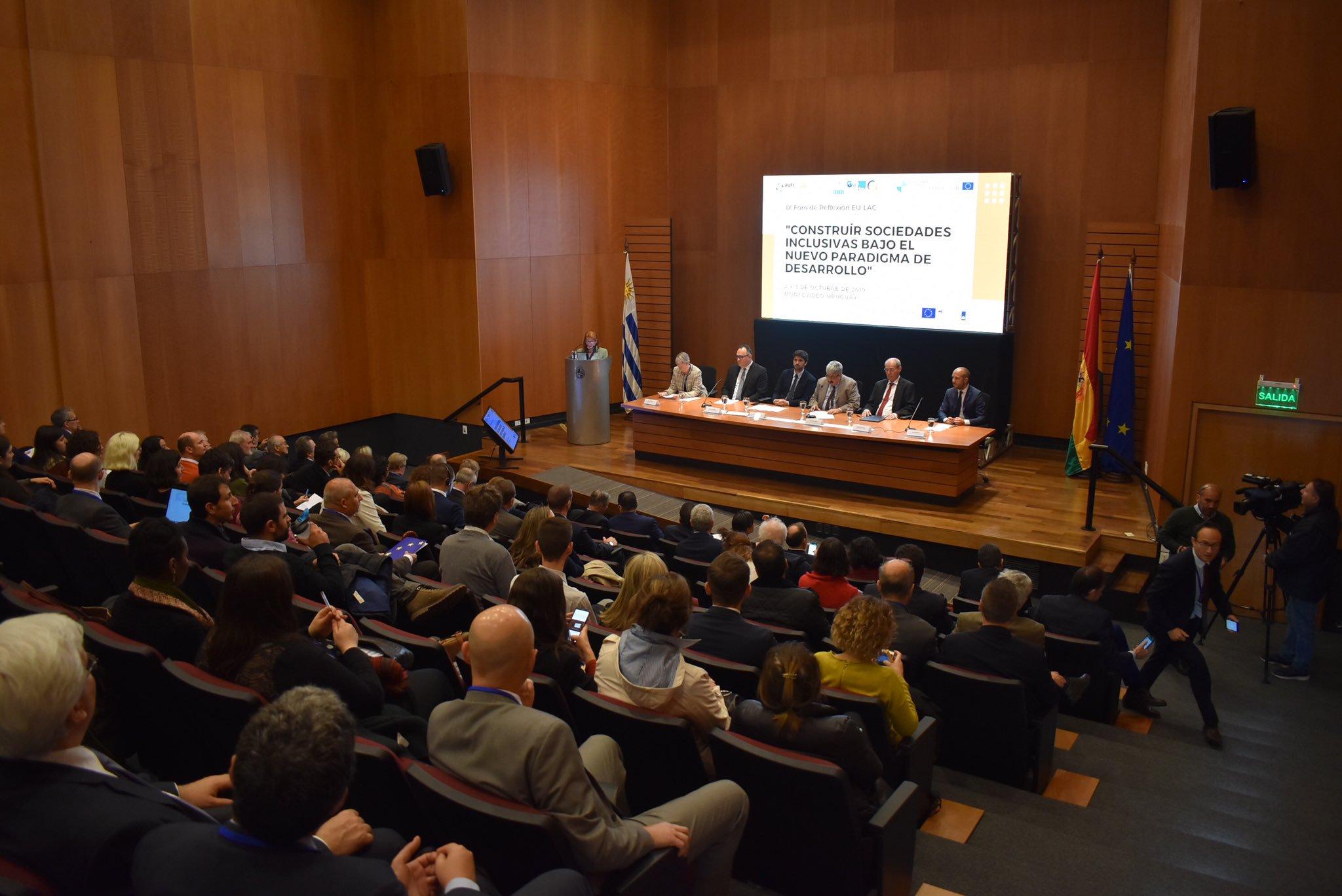 IX Foro de Reflexión EU-LAC: Construyendo sociedades inclusivas bajo un nuevo paradigma de desarrollo