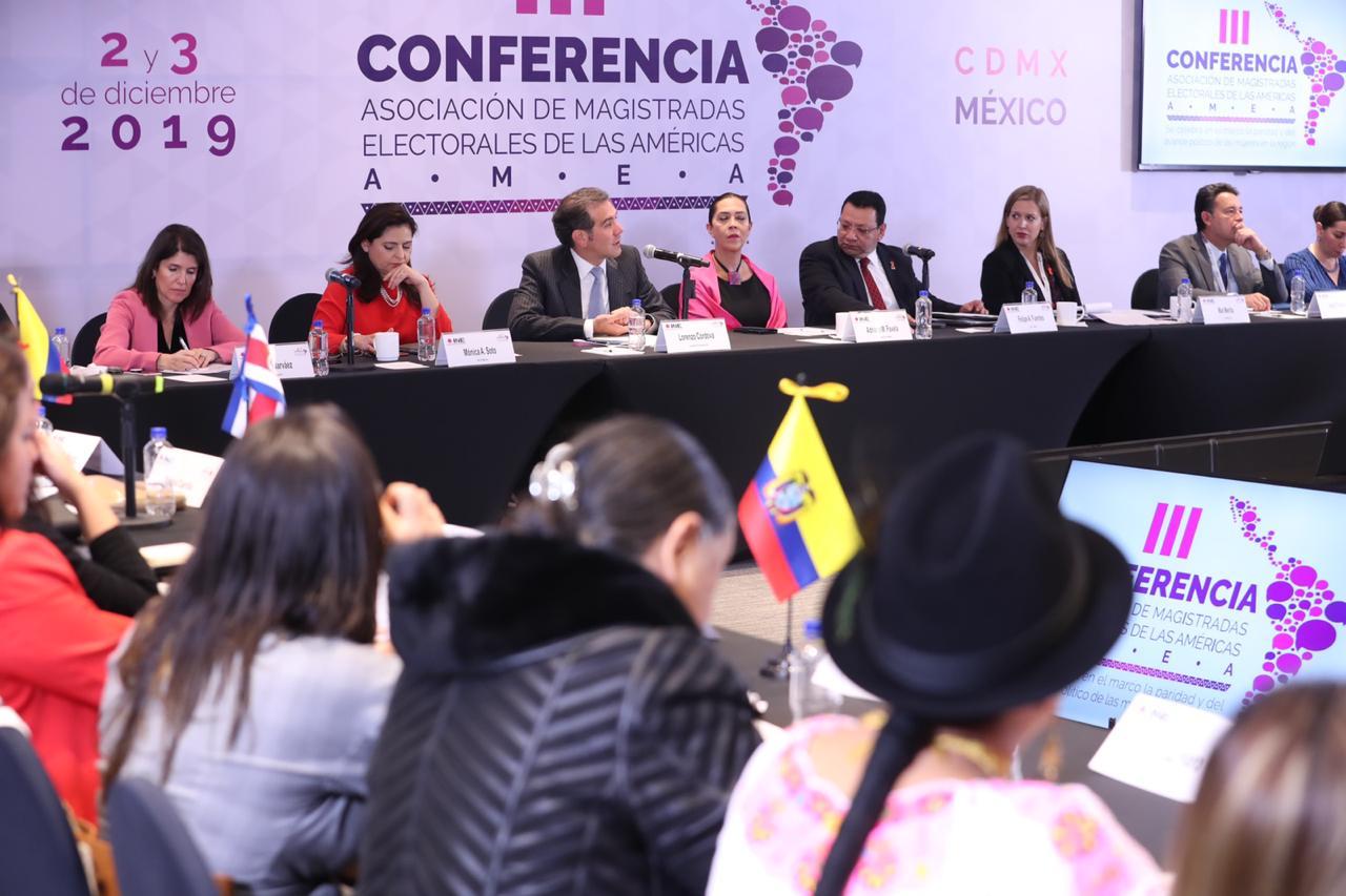 Magistradas electorales de América Latina suman esfuerzos para una mayor participación política de las mujeres