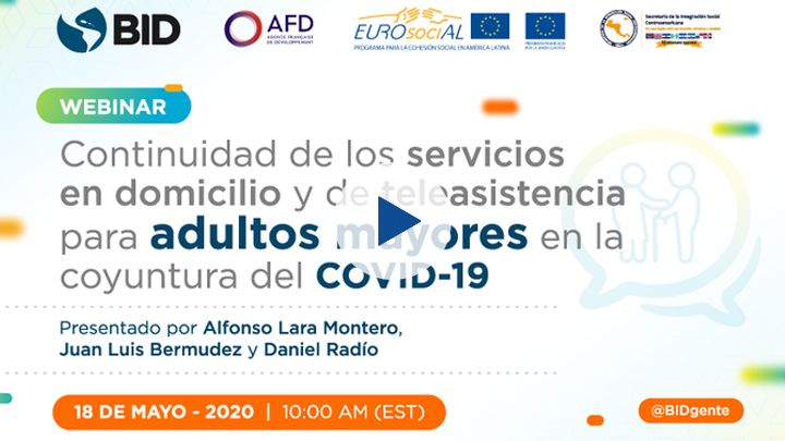 "Webinar ""Continuity of Home and Telecare Services for Elderly Adults in the Situation Brought on by COVID-19"
