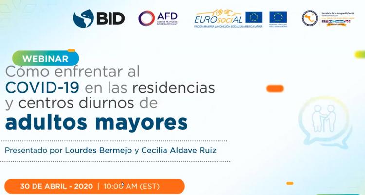 Cómo enfrentar la #COVID19 en las residencias y centros diurnos para personas adultas mayores