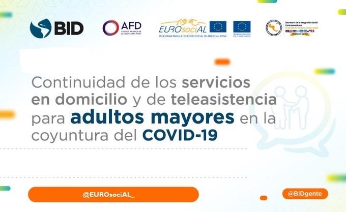 Cómo garantizar los servicios de atención en el domicilio y teleasistencia para personas con dependencias durante la emergencia de la Covid-19