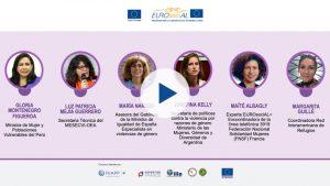 """Seminario web """"Atención de urgencia a las víctimas de violencia de género en el contexto de la pandemia COVID-19"""""""