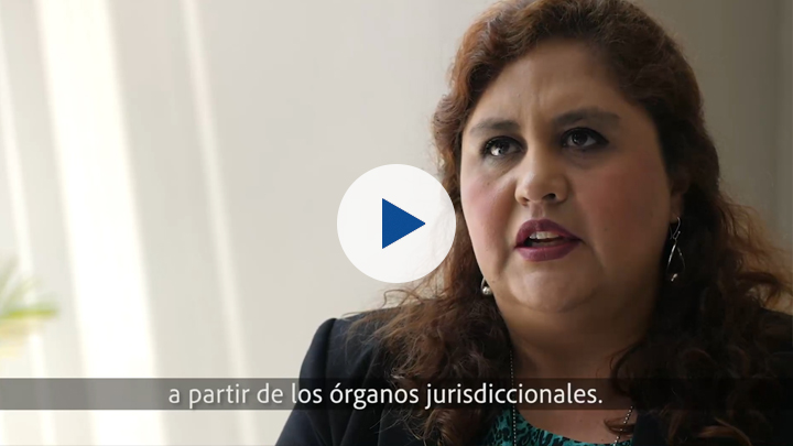 Corruption and gender series: Andrónika Zans, Provincial Prosecutor in Cusco, specialising in human trafficking crimes