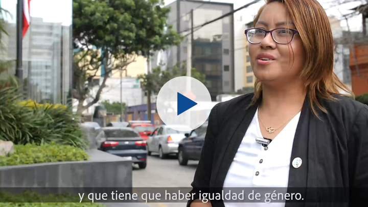 Corruption and gender series: Jhinna Pinchi, Peruvian trafficking survivor and activista