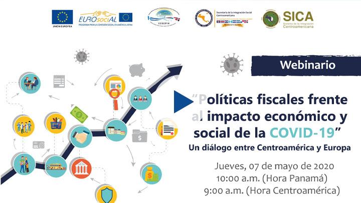 """Seminario web """"Políticas fiscales frente al impacto económico y social de la COVID-19"""""""