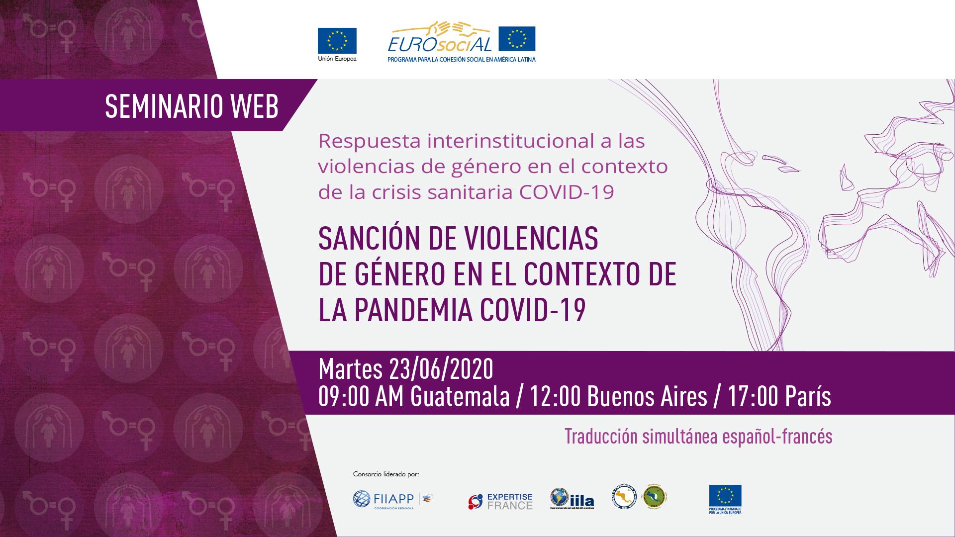 Sanción de violencias de género en el contexto de la pandemia Covid-19