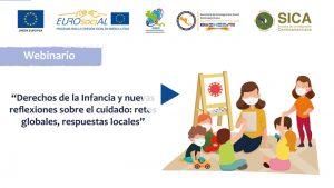 """Seminario web """"Derechos de la infancia y nuevas reflexiones sobre el cuidado: retos globales, respuestas locales"""""""