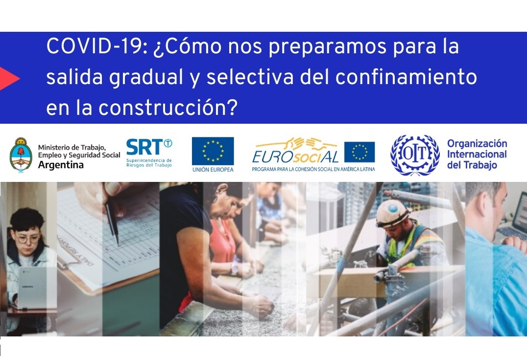 Health and safety measures in the Southern Cone and Europe in the construction sector