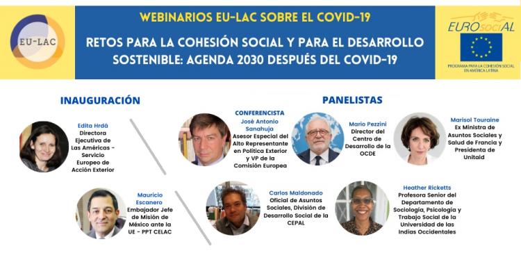 Retos para la cohesión social y el desarrollo sostenible: Agenda 2030 después de la COVID-19