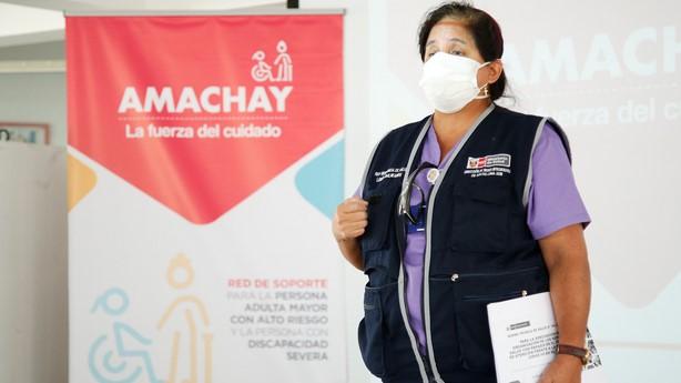 Fortalecimiento de la Red Amachay de protección a personas adultas mayores y personas con discapacidad en Perú