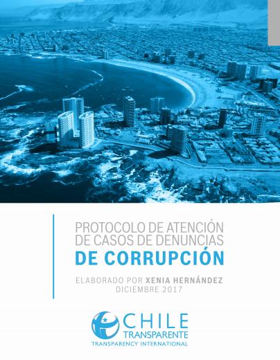 Protocolo de atención de casos de denuncias de corrupción