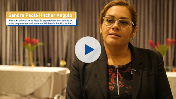 Corruption and gender series: Sandra Paola Hitcher Angulo, provincial prosecutor of the Loreto prosecutor's office, specialising in human trafficking crimes within the Public Prosecutor's Office of Peru.