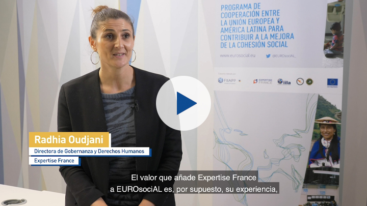 Expertise France in the EUROsociAL+ Programme