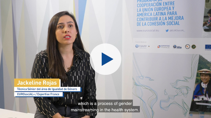 EUROsociAL+ Results: Support for the strategy and methodology to mainstream the gender approach in the General Health System (Colombia).