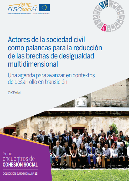 Actores de la sociedad civil como palancas para la reducción de las brechas de desigualdad