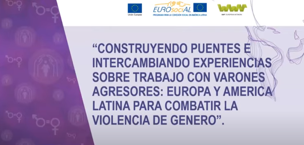 Understanding gender violence: working with aggressors in Latin America and Europe