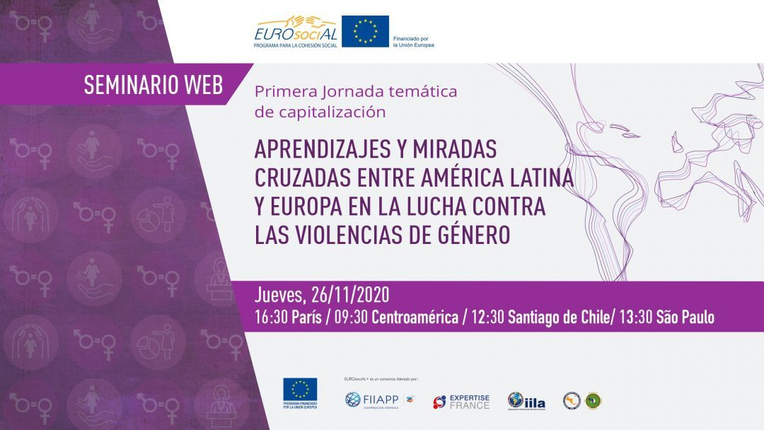 Learnings and cross views between Latin America and Europe in the fight against gender violence