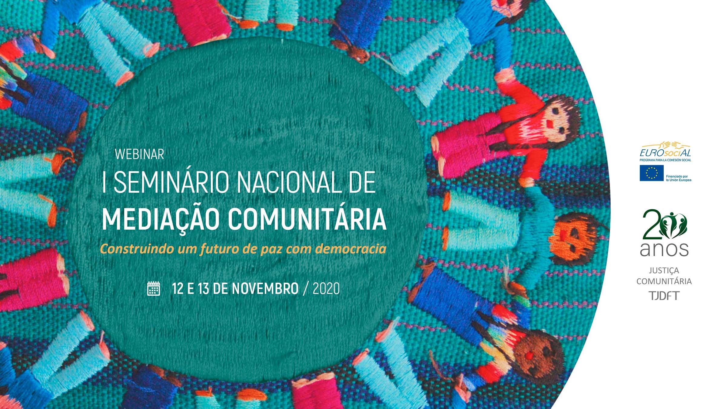 I Seminario Nacional de Mediación Comunitaria (Brasil)