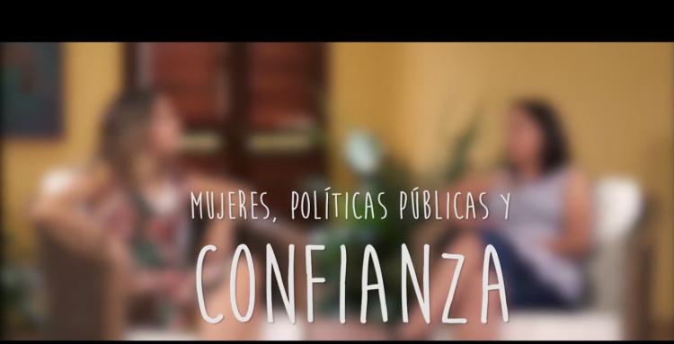 Diálogos Recíprocamente: mujeres, políticas públicas y confianza