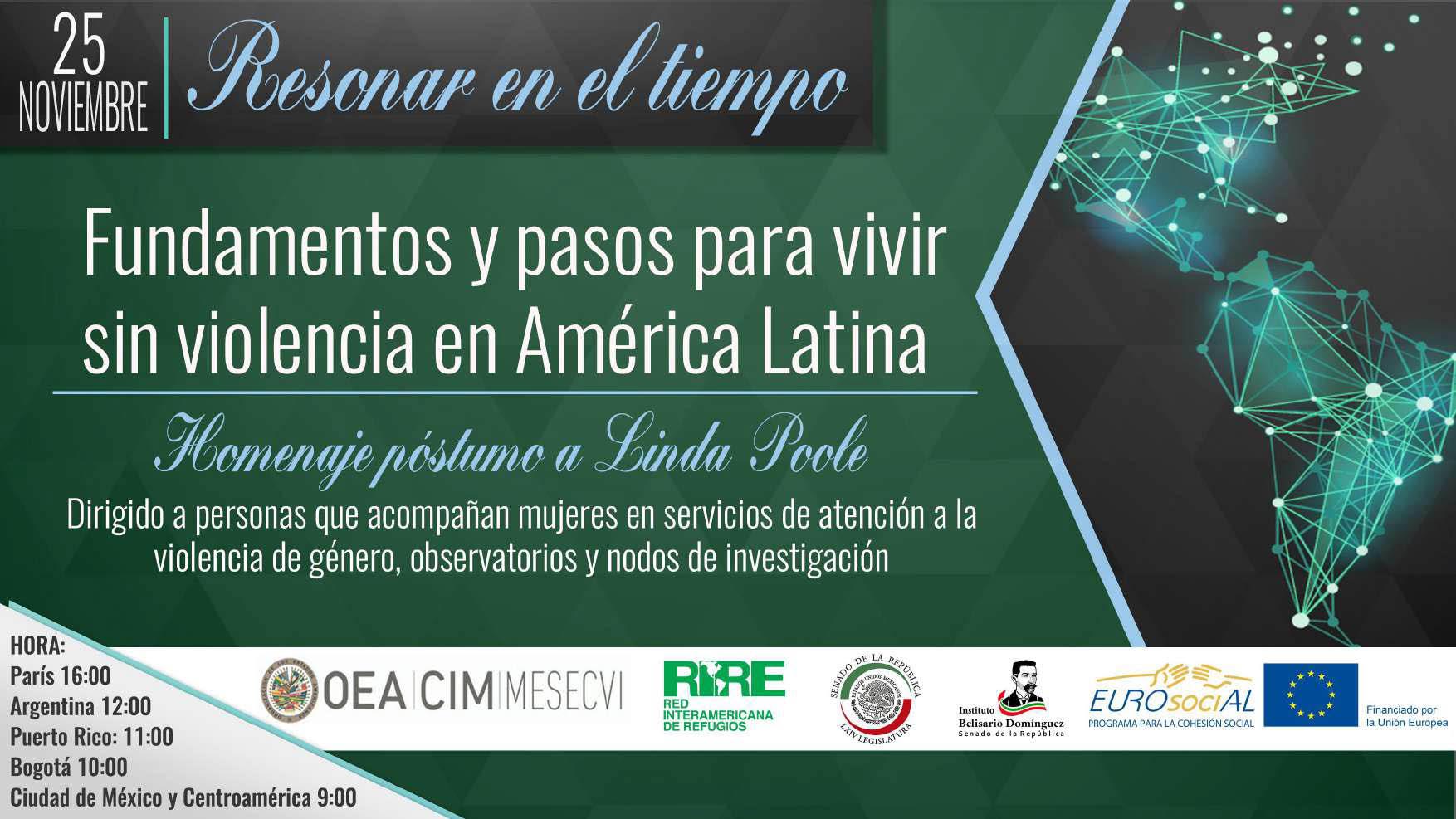 Resonar en el tiempo. Fundamentos y pasos para vivir sin violencia en América Latina