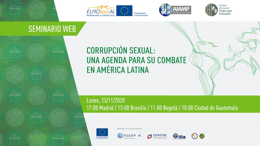 Sexual corruption. An agenda to fight against it in Latin America