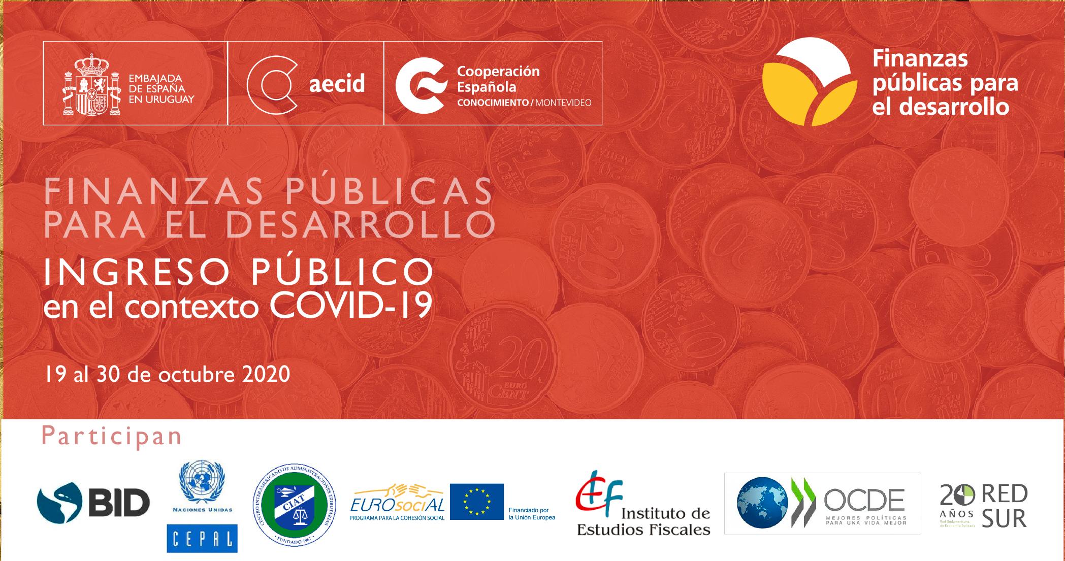 Políticas fiscales frente a la COVID-19: diálogo América Latina y el Caribe-Unión Europea