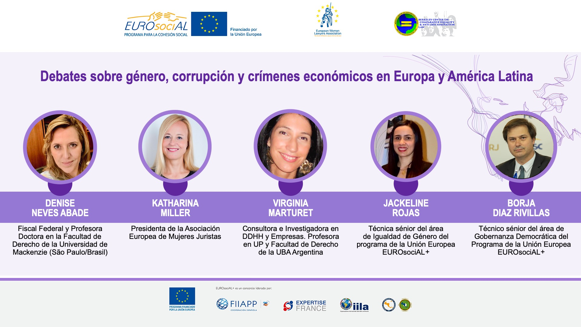 Strengthening strategies to include the gender perspective in public policies for the prevention of corruption and economic crimes