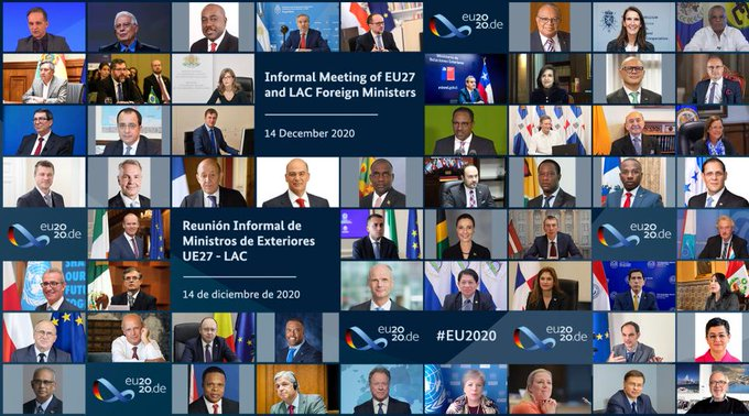 The conference of foreign ministers of the European Union and Latin America highlights the contribution that EUROsociAL+ can make to the post-pandemic recovery