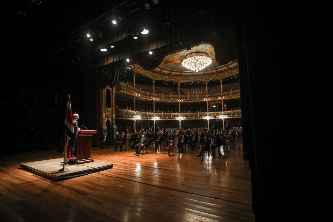 Acto Solemne de establecimiento CCES, Teatro Nacional de Costa Rica. Fotografía: Julieth Méndez