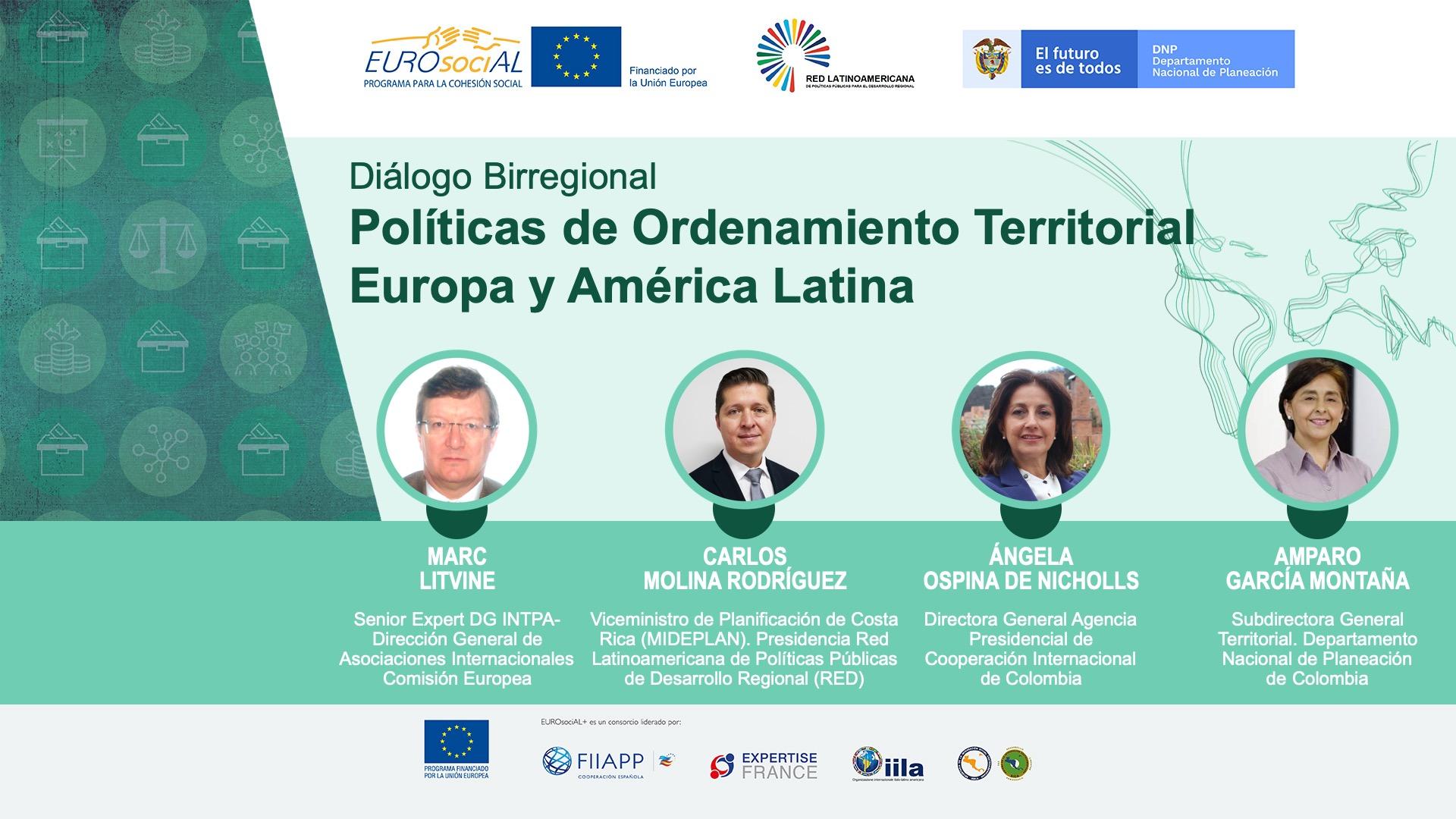 Colombia impulsa el diálogo Europa y América Latina para el cumplimiento de los ODS desde los territorios