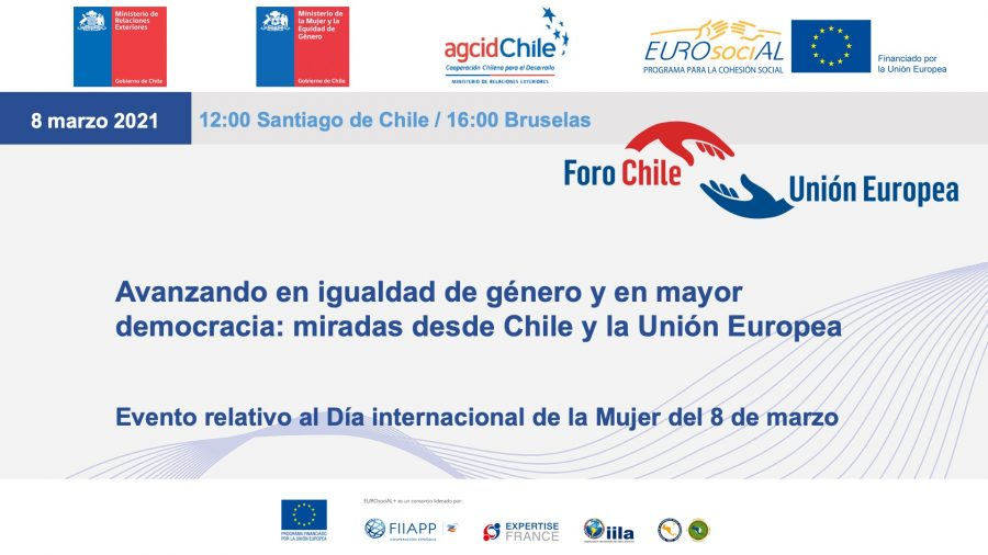 Moving forward in gender equality and greater democracy: views from Chile and the European Union