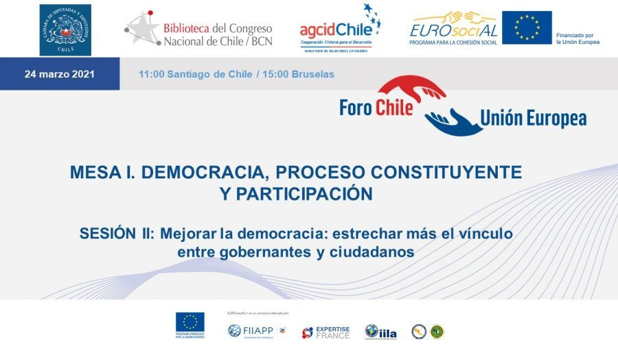 Round Table I. Democracy, constitutional process and participation. Session II: Improving democracy: closer ties between rulers and citizens