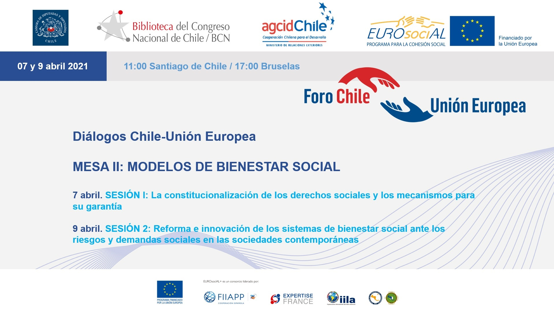 Diálogos Chile-UE. Mesa II: Modelos de bienestar social