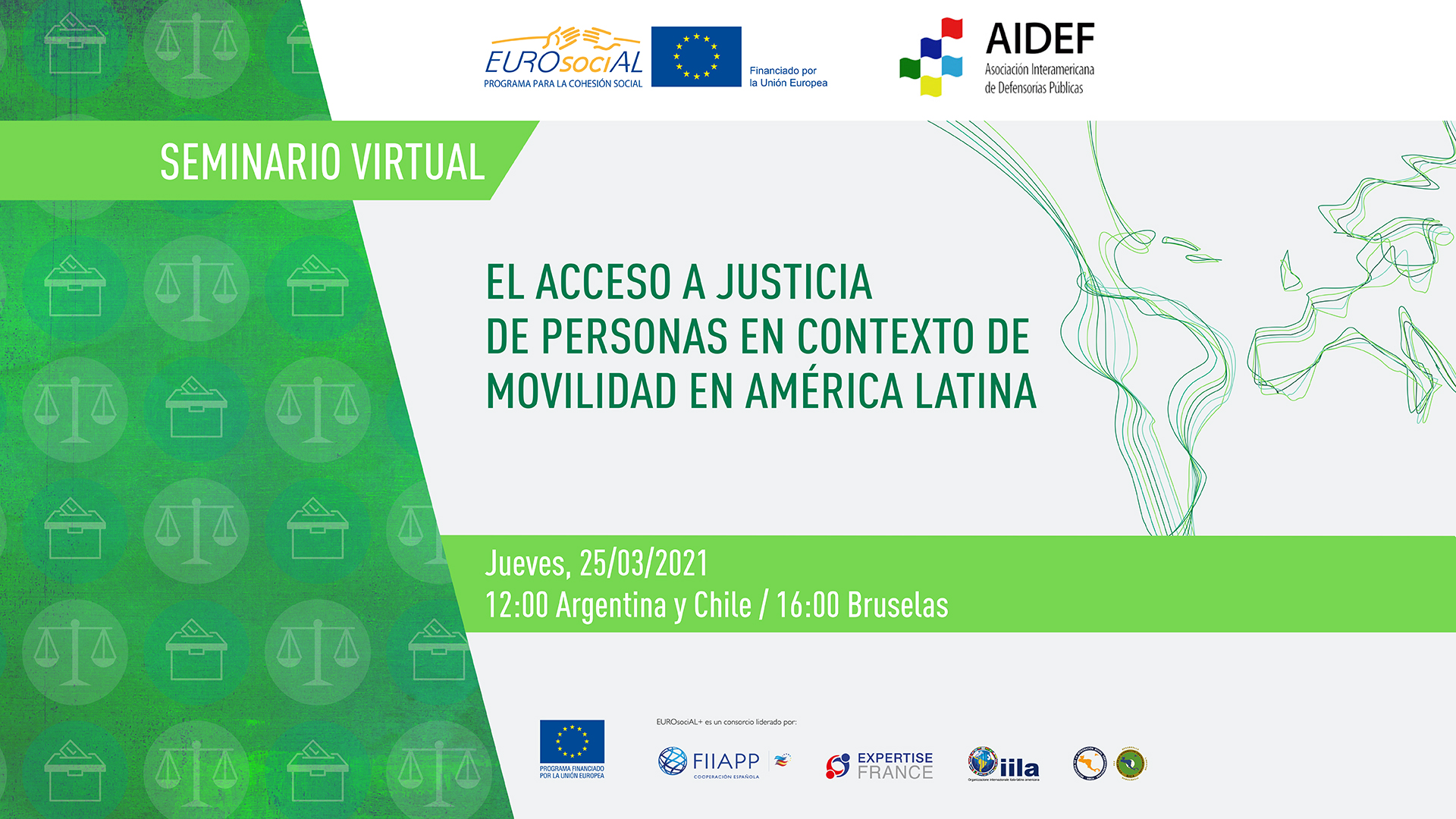 Access to justice for people in contexts where they are on the move in Latin America