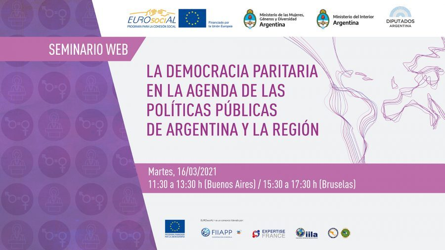 Parity democracy on the public policies agenda of Argentina and the region
