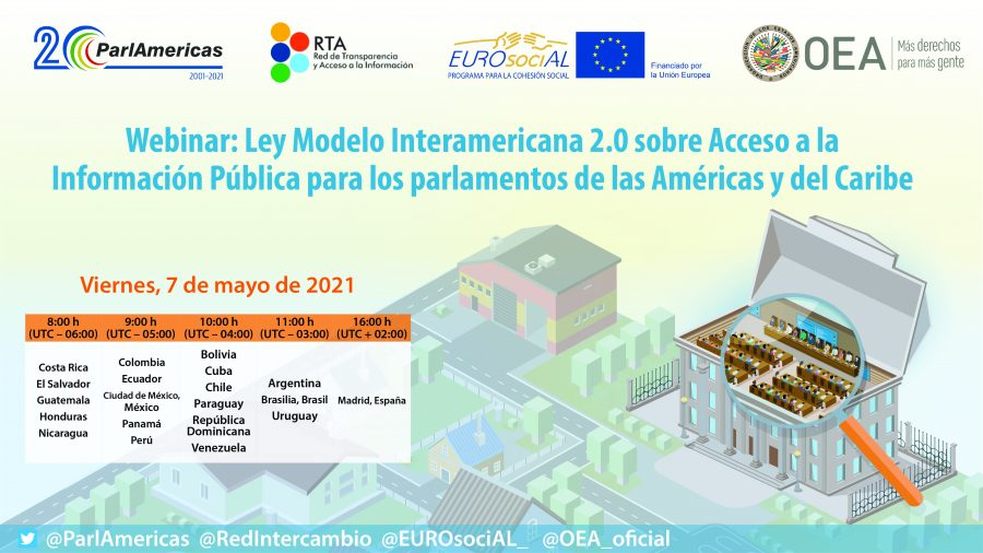 Model Inter-American Law 2.0 on Access to Public Information for the parliaments of the Americas and the Caribbean