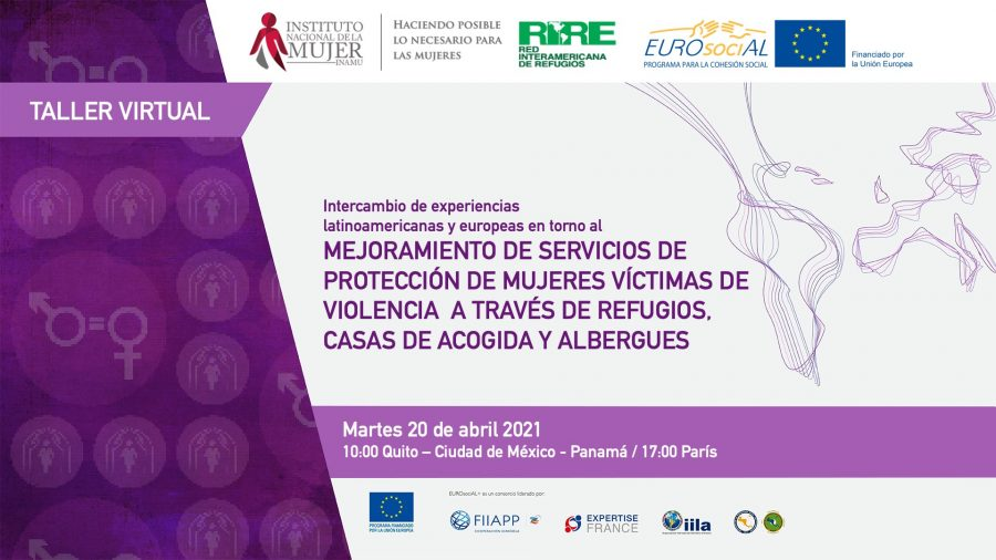 Exchange of Latin American and European experiences regarding improving protection services for female victims of violence through refuges, shelters and hostels