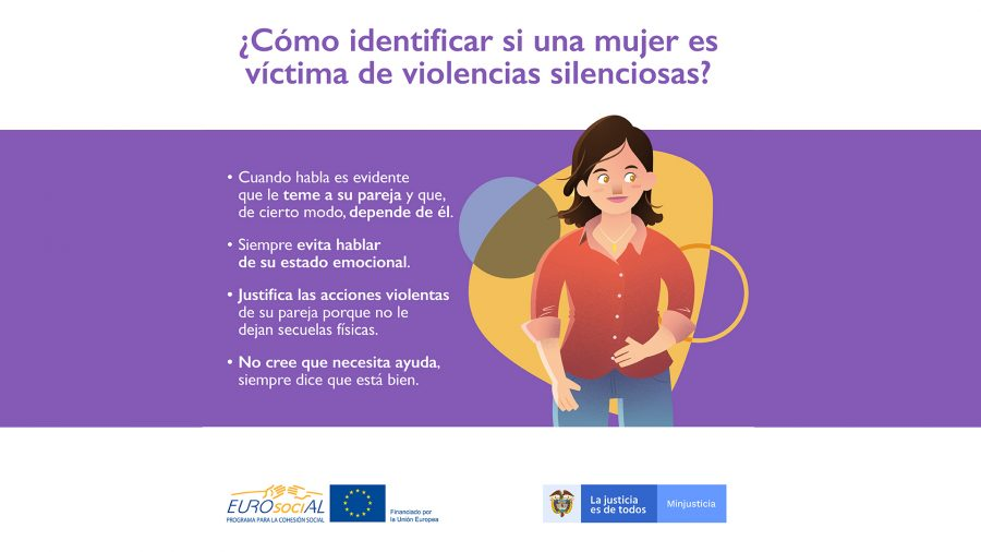 Colombia commits to raising awareness of the silence of women suffering violence to eradicate this scourge