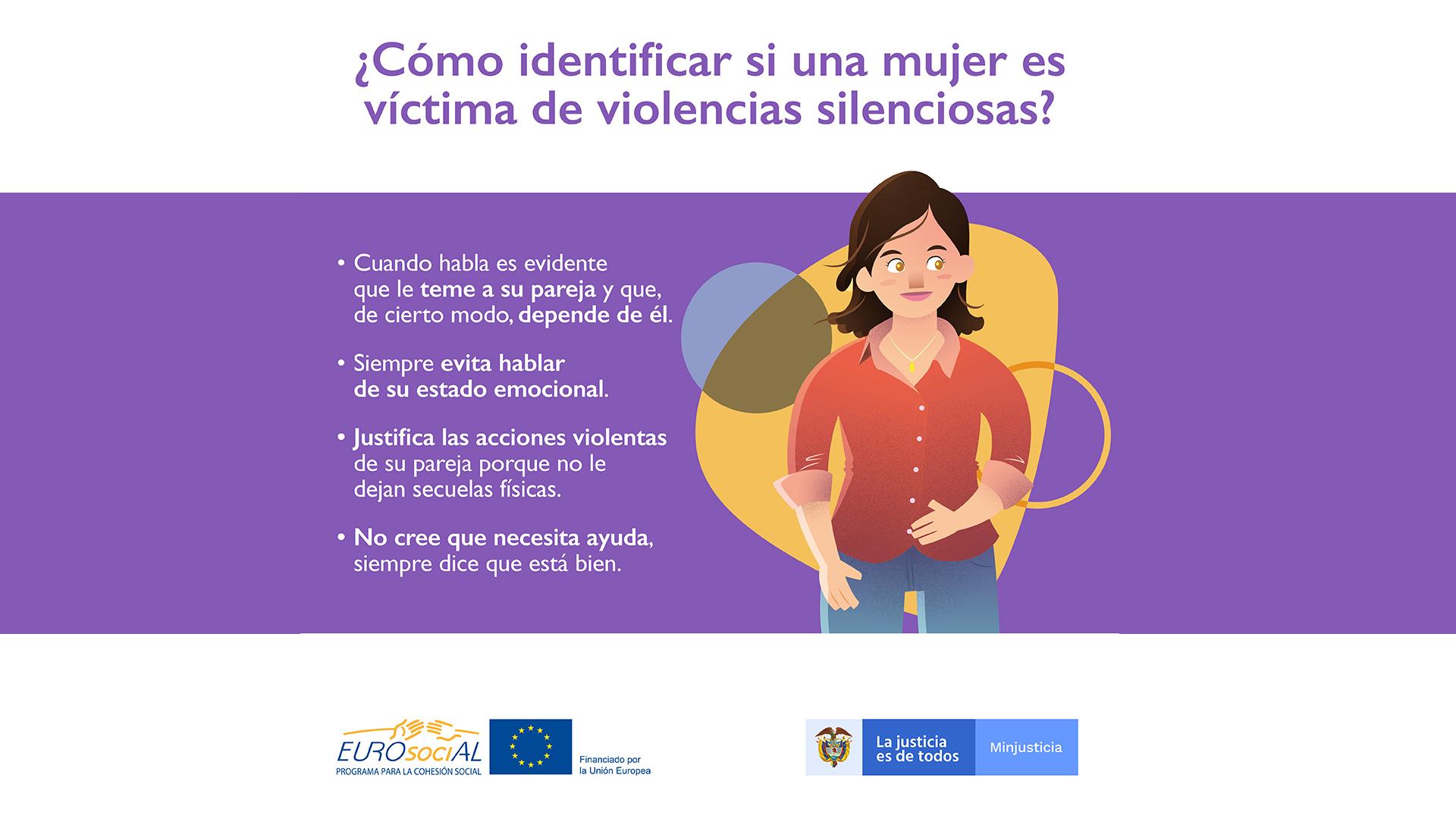Colombia apuesta por sensibilizar sobre las violencias silenciosas que sufren las mujeres para avanzar en su erradicación